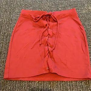 Tight cotton skirt
